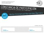 Diseño de Constancia / Diploma