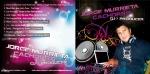 Portada y Contraportada de CD DJ Jorge Murrieta