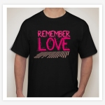 Diseño de Playeras Vinyl Remember Love