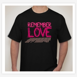 Diseño de Playeras Vinyl Remember Love