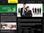 Página Web Agentia