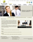 Página Web Allenare