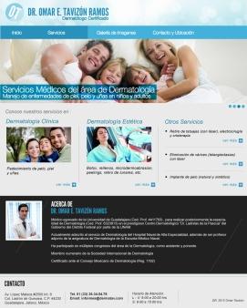 Diseño Web Omar Tavizon Ramos