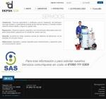 Diseño Web Depsatech Servicios