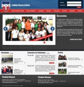 Página Web Instituto Nuevo Galicia