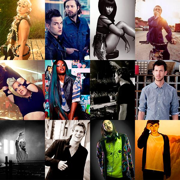 Las mejores canciones del 2012