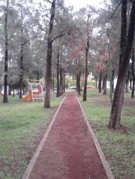 Parque enfrente de mi depa