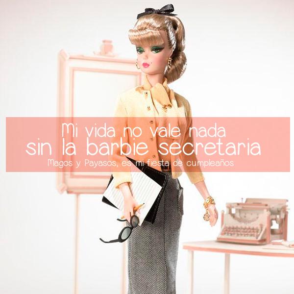 Barbie Secretaría
