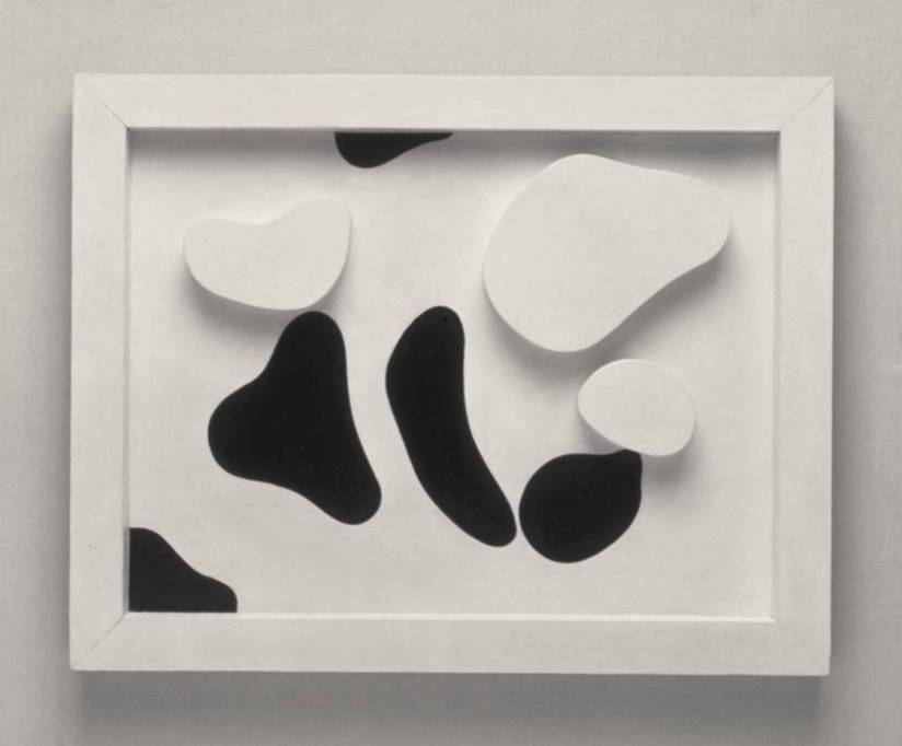 Constellation According to the Laws of Chance circa 1930 by Jean Arp (Hans Arp) 1886-1966