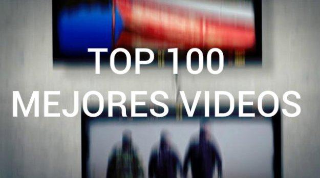 100 mejores videos de musica: