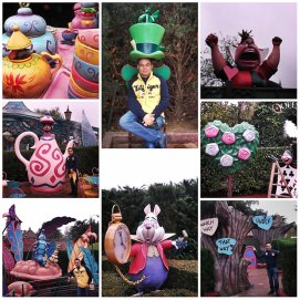 Alice in wonderland, Eurodisney
