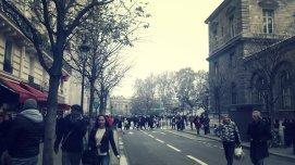 Llegando a Notre Dame