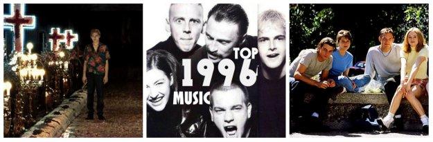 La mejor música del año 1996. Top Chart Music 96, las canciones más exitosas del año en México. Análisis top ten noventas año 1996.
