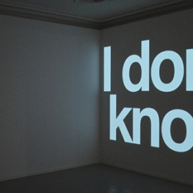 idontknow