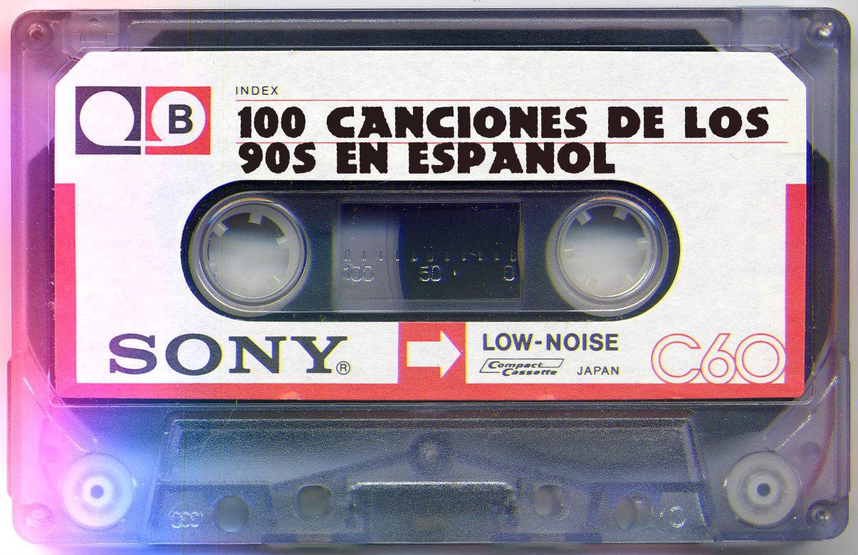 Click en la imagen para conocer las mejores 100 canciones de la decada de los noventas