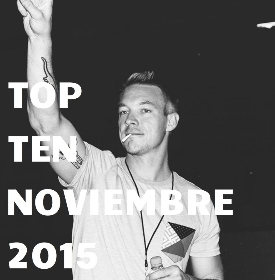 El último top ten publicado en el blog, las mejores canciones del mes, clic en la imagen para ver listado.
