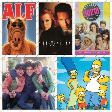 SERIES TV 90S