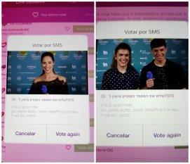Votos Eurovision 2018